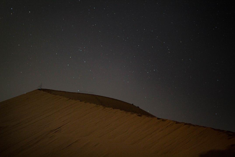 Wüste-Dünen Sterne 2
