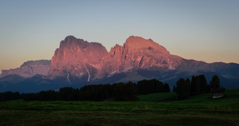 Dolomiten Sonnenuntergang berg