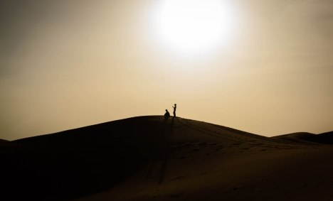 Shadow in the Sahara